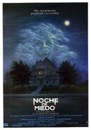 Fright Night 1985 Spanish Poster