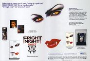 Fright Night Part 2 1989 IVE VHS Trade Ad