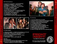 Fright Night - 25th Anniversary Edition - Back