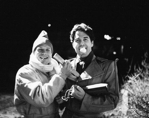 File:Fright Night 1985 Tom Holland stakes Chris Sarandon.jpg