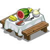 Melon Table-icon