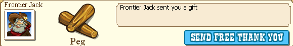 Frontier Jack Peg