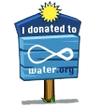 Donation Sign-icon