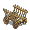 Empty Hay Cart-icon