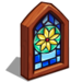 Stained Glass-icon
