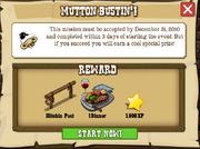 Mutton Bustin'! Accept