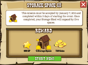 Storage Space III Accept