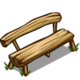 Log Bench-icon