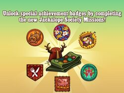 Jackalope Society Missions