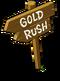 Gold Rush Sign-icon