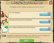 Thanksgiving Part V