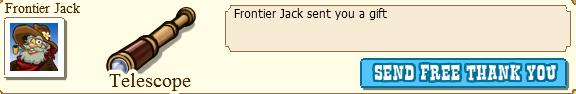 Frontier Jack Telescope