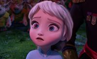 Elsa heeding Pabbie's warning