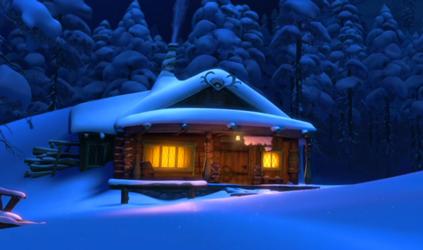 Wandering Oaken's Trading Post and Sauna   Frozen Wiki ...