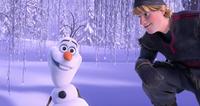 Kristoff and Olaf