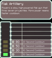 FlakArtillery