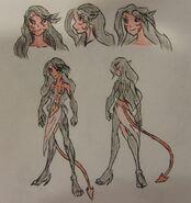 Claire Nightshade's true form, Blood Shadow