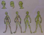 Seiji, Goblin attire and Anatomy (censored)