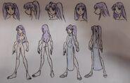 Salia, anatomy and Casual