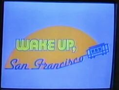 Wake Up San Francisco 1988-1989 Logo