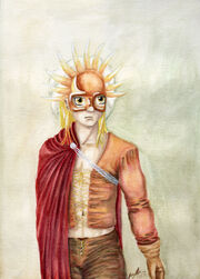 Solar Warrior Edward Elric