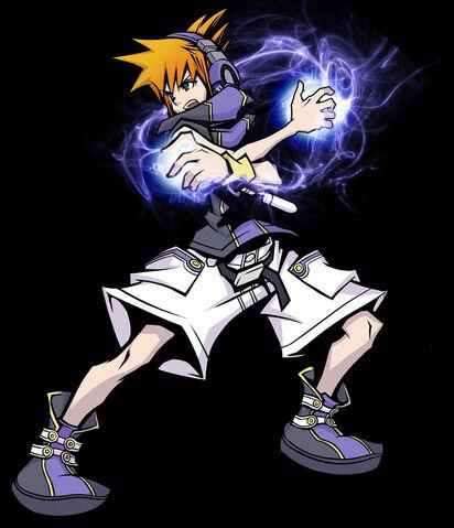 File:Neku Sakuraba energy attack by E Kun DA.jpg