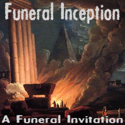A funeral invitation art