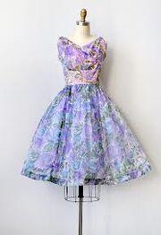 Claire's dress