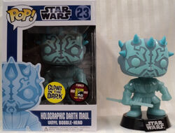 Star Wars Pop! 23 Holographic Darth Maul