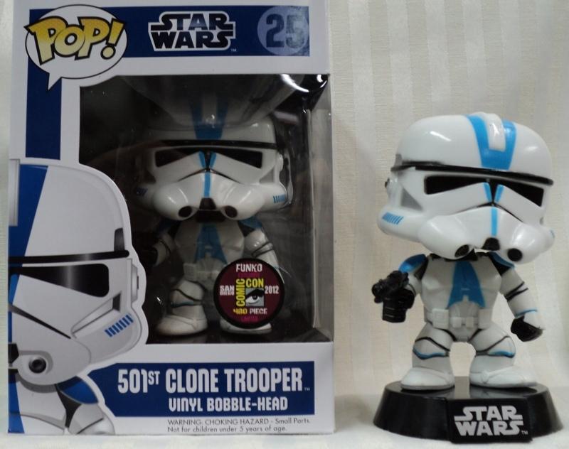 Star Wars Pop 25 501st Clone Trooper Funko Wiki