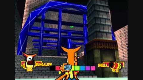 Fur Fighters - New Quack Subway (Level 4 - Unused Level)