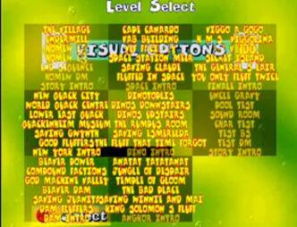 LevelselectDreamcast