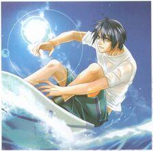 Takumi surfing