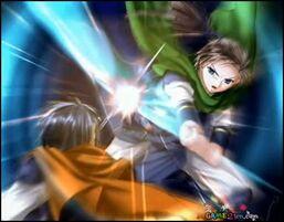 Uru and taku fight