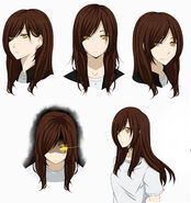 Yuki s headshot sheet haikyuu oc by black moon raven-d9hbpfr