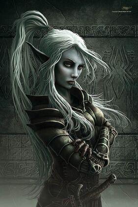 Portrait of elf by k0dy