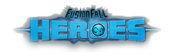 FusionFall Heroes title card