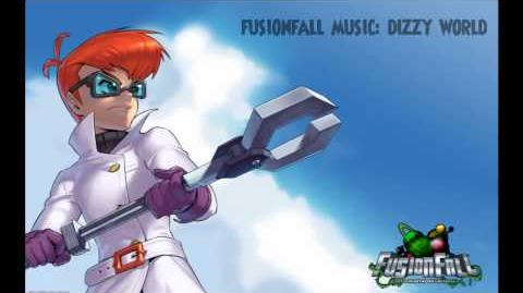 Fusionfall Music - Dizzy World(Infected Zone)