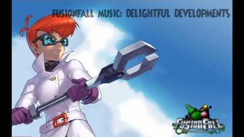 Fusionfall Music - Delightful Developments(Infected Zone)