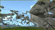 Dinossaur Pass infected zone