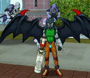 Fusionfall character