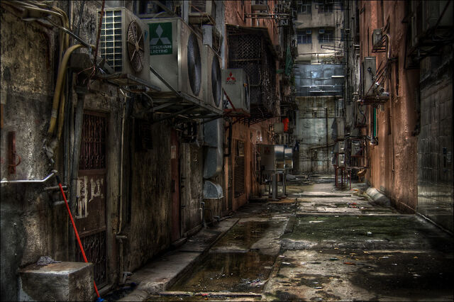 File:Hong Kong Alley by 3vilCrayon.jpg