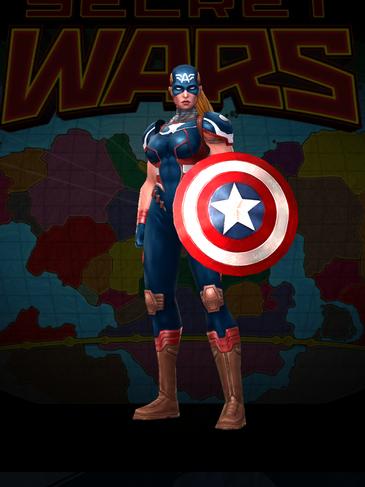 Captain America - Secret Wars 2099 Uniform