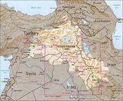Kurdish-inhabited area by CIA (1992)-1
