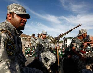 Libyan forces in northwestern Libya