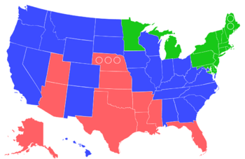 Claras US Map 2016