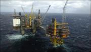 Norwegian oil rig