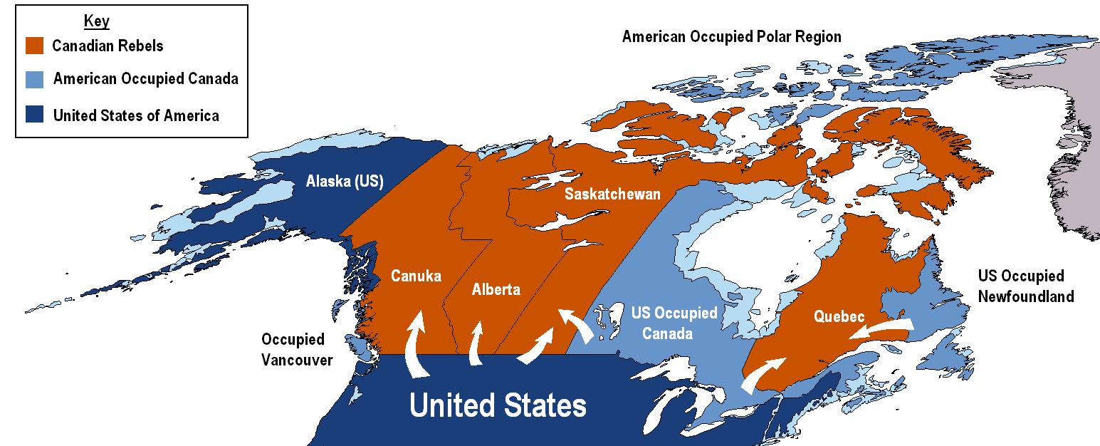 Canadian Civil War The Second Renaissance Future FANDOM