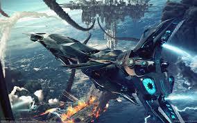 File:Futuristic Low Orbit Battle.jpg