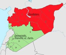 Post-Civil War Syria